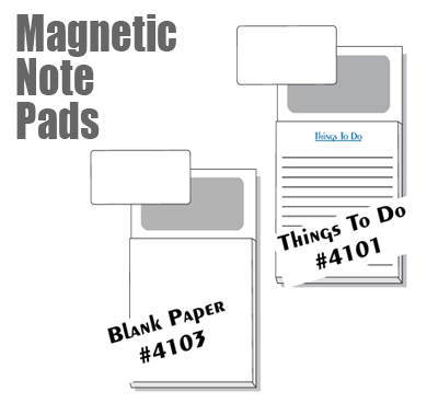 Real estate catalog page 01 magnetic note pads add your business card 50 sheets per pad pad size 35 x 45 product size 35 x 625 mails for 1 ounce with punch out magnet reheart Images